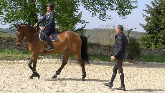 vid os de cours d 39 quitation michel robert horse academy. Black Bedroom Furniture Sets. Home Design Ideas