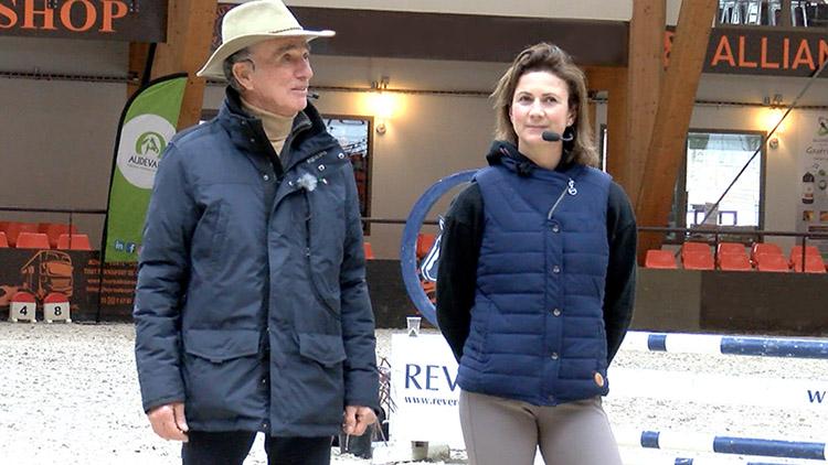 Pénélope Leprévost et Michel Robert