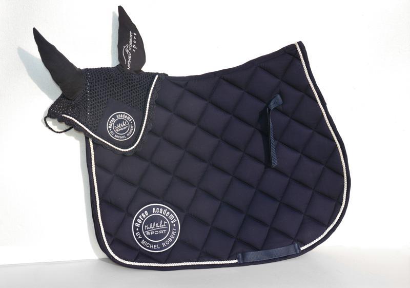 Tapis De Selle Et Bonnet Michel Robert Sport Horse Academy